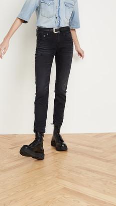 R 13 Mid-Rise Boy Skinny Jeans