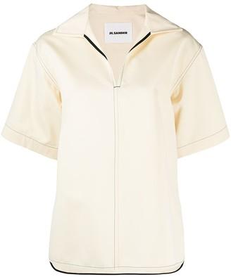 Jil Sander Boxy Polo Shirt