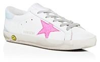 Golden Goose Girls' Superstar Glitter Embellished Low-Top Sneakers - Toddler Little Kid