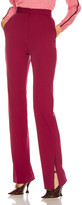 Stella McCartney Tailored Stretch Trouser in Dark Jazzberry | FWRD