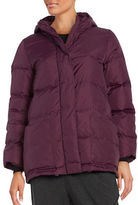 Eileen Fisher Solid Quilted Coat