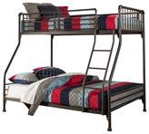 Hillsdale Furniture Brandi Metal Bunk Bed Twin/Twin