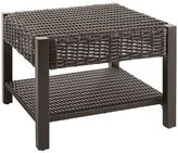 Pier 1 Imports Echo Beach Tobacco Brown End Table