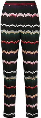 Missoni stretch knit capri pants