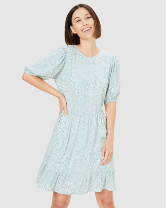 French Connection Women's Dresses - Spot Tea Dress - Size One Size, 16 at The Iconic