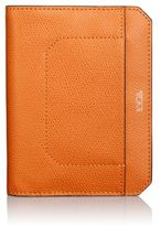Tumi Embossed Leather Passport Cover