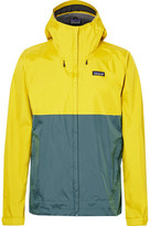 Patagonia Torrentshell Waterproof H2no Performance Standard Ripstop Hooded Jacket - Marigold