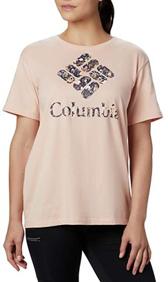 Columbia Parktm Relaxed Tee (Black/Camo) Women's T Shirt