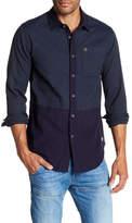 Scotch & Soda Colorblock Regular Fit Shirt