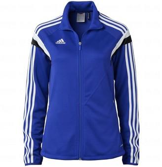 adidas Women's Condivo 14 Training Jacket Ladies Track Top F76943 - Royal Blue (Small)