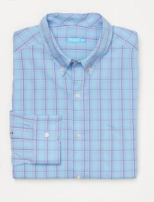 J.Mclaughlin Carnegie Classic Fit Shirt in Windowpane