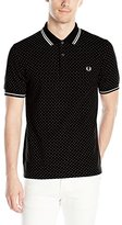 Fred Perry Men's Polka Dot Pique Shirt