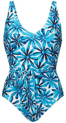 Figleaves Non Wired Belted Swimsuit