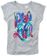adidas Girls 7-16) Play Loud Graphic Tee