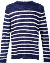 The Elder Statesman cashmere Picasso jumper - unisex - Cashmere - S