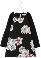 Versace printed floral dress