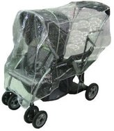 Sashas Rain and Wind Cover for Baby Trend Sit N Stand/Snap N Go Stroller by Sasha Kiddie Products