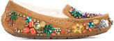 Jeremy Scott UGG x Ansley jewelled loafers