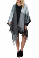 Mud Pie Phoenix Reversible Poncho