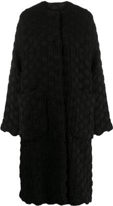 UMA WANG Textured Style Coat