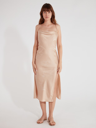 Finders Keepers Cristina Slip Midi Dress