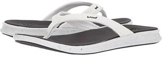 Reef Rover Catch Pop (Black/White) Women's Sandals