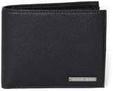 Armani Jeans Black Textured Billfold Wallet