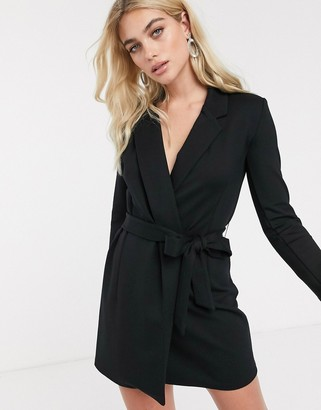 French Connection tuxedo mini dress
