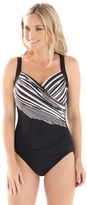 Chico's Barcode Sanibel One-Piece Swimsuit
