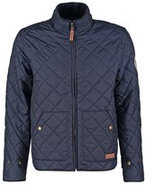 Knowledge Cotton Apparel Light Jacket Dark Blue