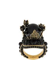 Gucci embellished flower ring
