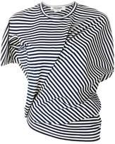 Junya Watanabe asymmetric striped T-shirt