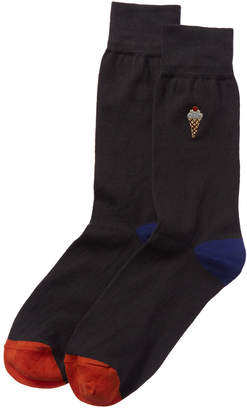 Paul Smith Embroidered Socks