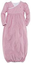 Ralph Lauren Newborn Striped Gown