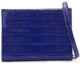 Nancy Gonzalez Mini Square Crocodile Clutch Bag