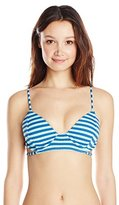 Volcom Women's Broken Lines Triangle Bikini Top