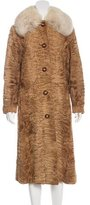 Christian Dior Broadtail Fur Coat