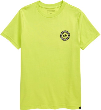 Quiksilver Time Circle Graphic Tee