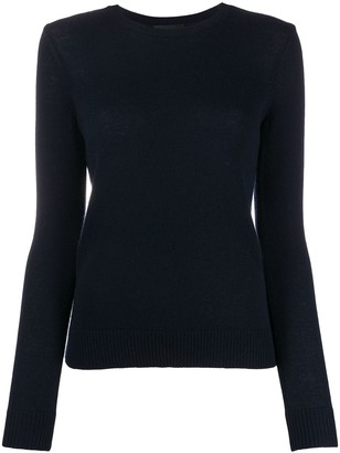 Theory Fitted Cashmere Pullover