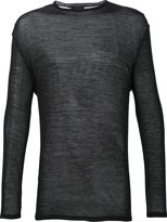 Thamanyah crew neck jumper - men - Polyamide/Wool - XS