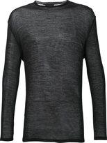 Thamanyah crew neck jumper - men - Wool/Polyamide - M