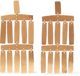 Annie Costello Brown - Roma Gold-plated Earrings - One size