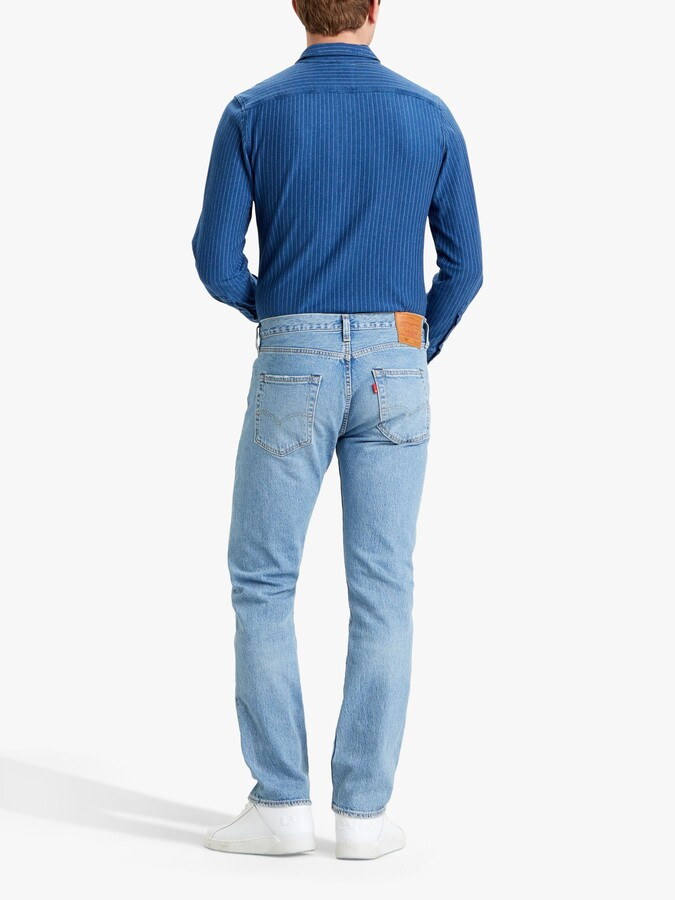 Thumbnail for your product : Levi's 501 Original Straight Jeans, Basil Sand