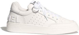 Chanel Flat White Sneaker