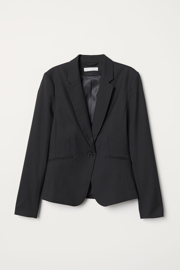 Thumbnail for your product : H&M Fitted Blazer - Black