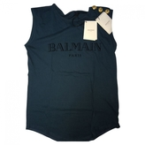 Balmain Blue Cotton Top