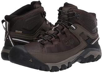 Keen Targhee III Mid Waterproof (Black Olive/Golden Brown) Men's Shoes