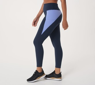 zuda Petite Z-Stretch Colorblocked Leggings