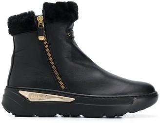 Baldinini Lined Chunky Heel Boots