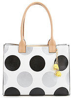 Kate Landry Cabana Dotted Flower Tote